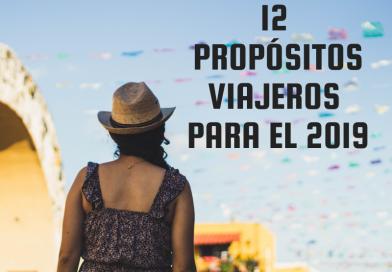 12 propósitos viajeros para el 2019